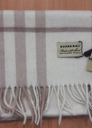 Теплый шарф burberry
