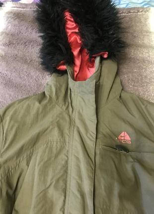 Куртка парка nike