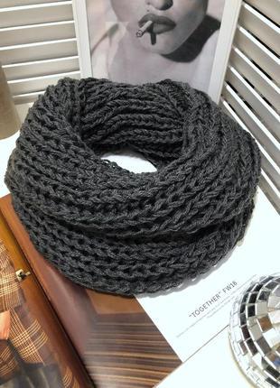 Шарф , снуд , хомут , объемный шарф