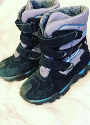 Зимняя обувь термоботинки на мальчика