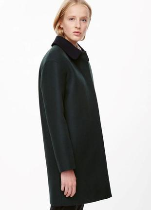 Шерстяное пальто cos