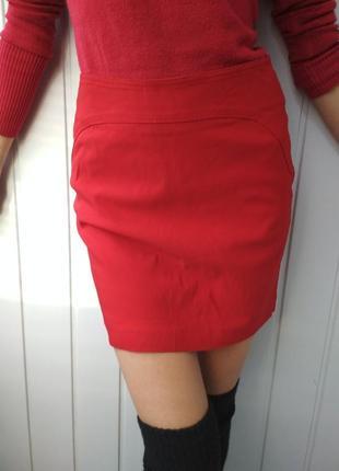 Алая юбка