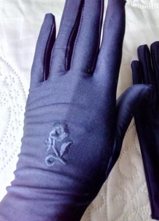 Перчатки женские, демисезонные, мягкие, вискоза