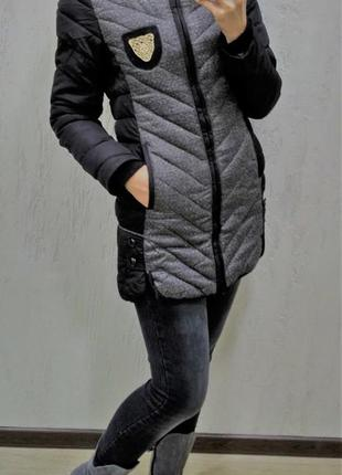 Курточка на теплую зиму, холодную осень