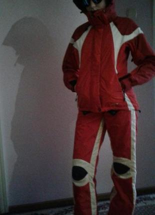 Зимний лыжный термо костюм для девочки