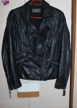 Стильна шкіряна куртка косуха south