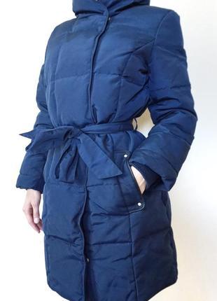Пуховик куртка зимняя длинная