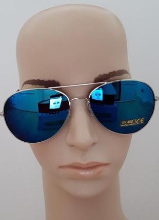 Очки солнцезащитные авиатор pipel  защита от ультрафиолета uv 400  оригинал