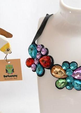 В наличии брендовое колье accessorize, ожерелье