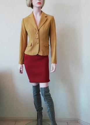 Шерстяной пиджак от немецкого бренда