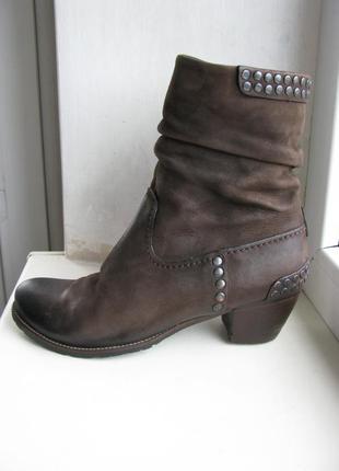 Кожаные сапоги, ботинки kennel & schmenger
