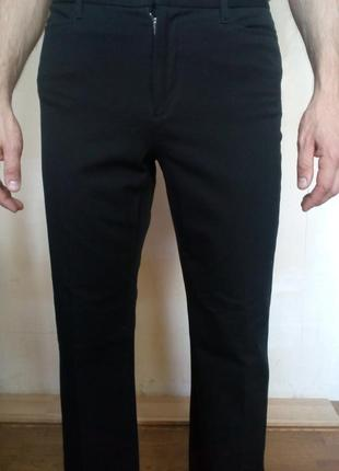 Мужские брюки classic fit bootcut/strech