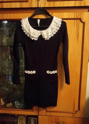 Платье, можно как тунику под лосины или плотные колготки