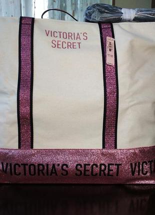 Вместительная сумка victoria's secret оригинал