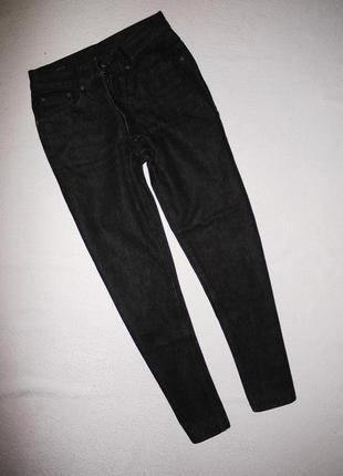 Оригинал gucci джинсы из плотного денима . темно серые завышенная посадка1 фото