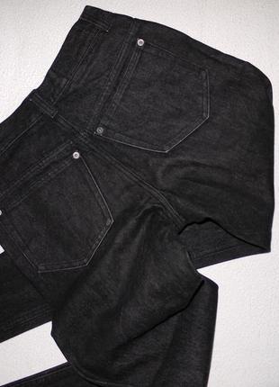 Оригинал gucci джинсы из плотного денима . темно серые завышенная посадка2 фото