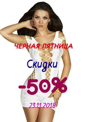 Сексуальный пеньюар-сетка арт. 515