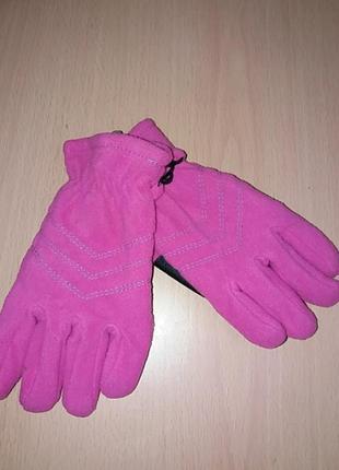 Новые перчатки краги на плотном флисе германия