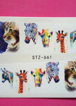 Слайд дизайн рисунок № 661 для ногтей в наличии