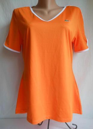 Спортивная футболка lacoste sport.оригинал!сделано для англии.
