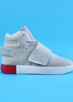 Женские зимние кроссовки adidas tubular с 36 по 40