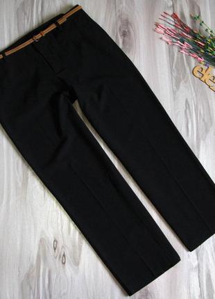 """Базовые, черные брюки """"only"""" размер eur 42"""