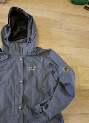 Jack wolfskin парка куртка ветровка джек вольфскин оригинал стильная модная