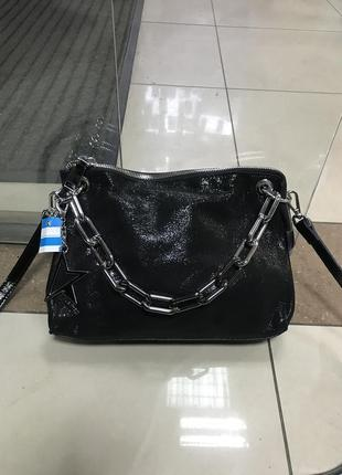 Кожаная сумка сумка кожаная с лазерным напылением
