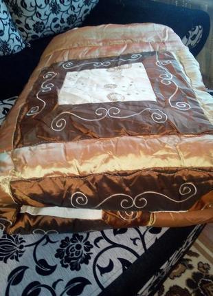 Красивое одеяло, покрывало на синтепоне размер 245*2485