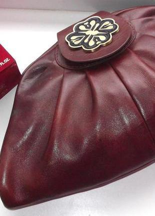 Большая косметичка misha barton из натуральной кожи