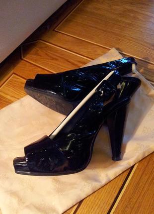 Итальянские туфельки натуральная кожа 37 размер