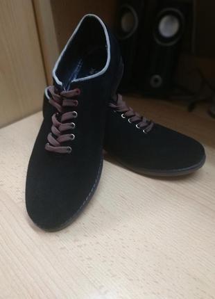 Туфли замшевые аlpino