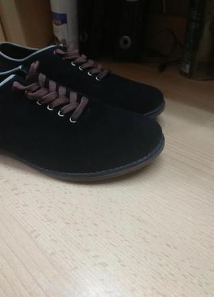 Туфли замшевые аlpino3 фото