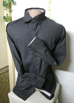 Шикарныая рубашка в полоску