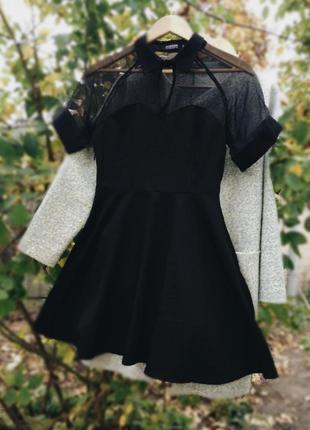 Великолепное чёрное платье