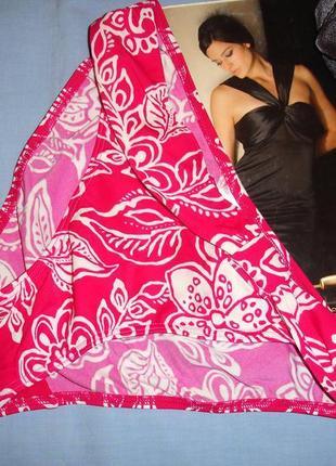 Низ от купальника раздельного женские плавки размер 42 / 8 розовые малиновые