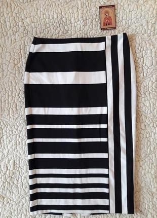 Базовая красивая юбка-миди, размер с-м