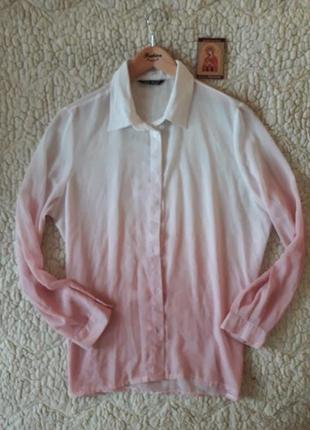 """Красивая новая блуза """"амбре"""", размер л-хл"""