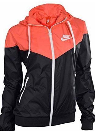 Куртка ветровка для бега nike windranner