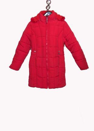 Теплющий пуховик зимний/пальто куртка