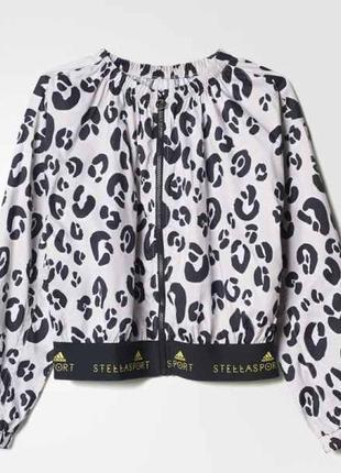 Adidas by stella mccartney куртка-бомбер, ветровка