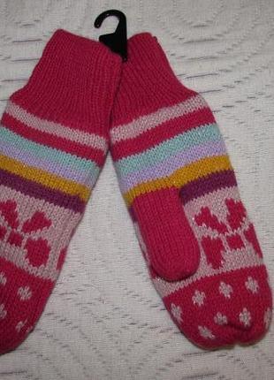 Нові рукавички h&m на флісі на 5-6 років
