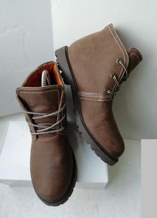 Мужские ботинки, бренд novocento (нат.кожа), италия- 40 р.