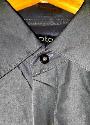 Стильная рубашка с вышивкой