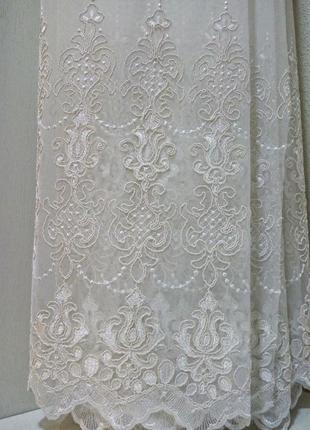 Гардина тюль французская вуаль