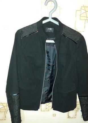 Куртка котон з вставками