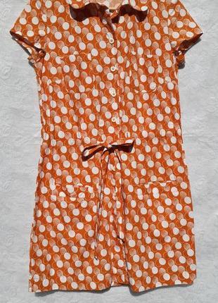 06b8acca8f8 Платье рубашка в горох на пуговицах Marks   Spencer