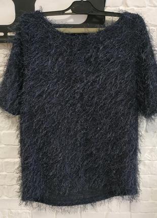 Свитер-травка, лохматый свитер