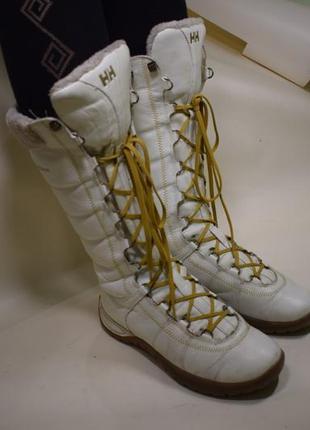 Зимние сапоги ботинки норвегия helly hansen р.39,5 24,5-25,5