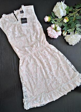 Милое нежное платьице